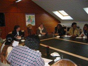 Proposition de résolution initiée par Marion Lemesre, Michèle Hasquin-Nahum , Caroline Persoons ainsi que le Collectif des femmes Congolaises de Bruxelles dont Madame Rose Mefalessi ( Pour la résolution, confert parlement bruxellois) 2-300x225