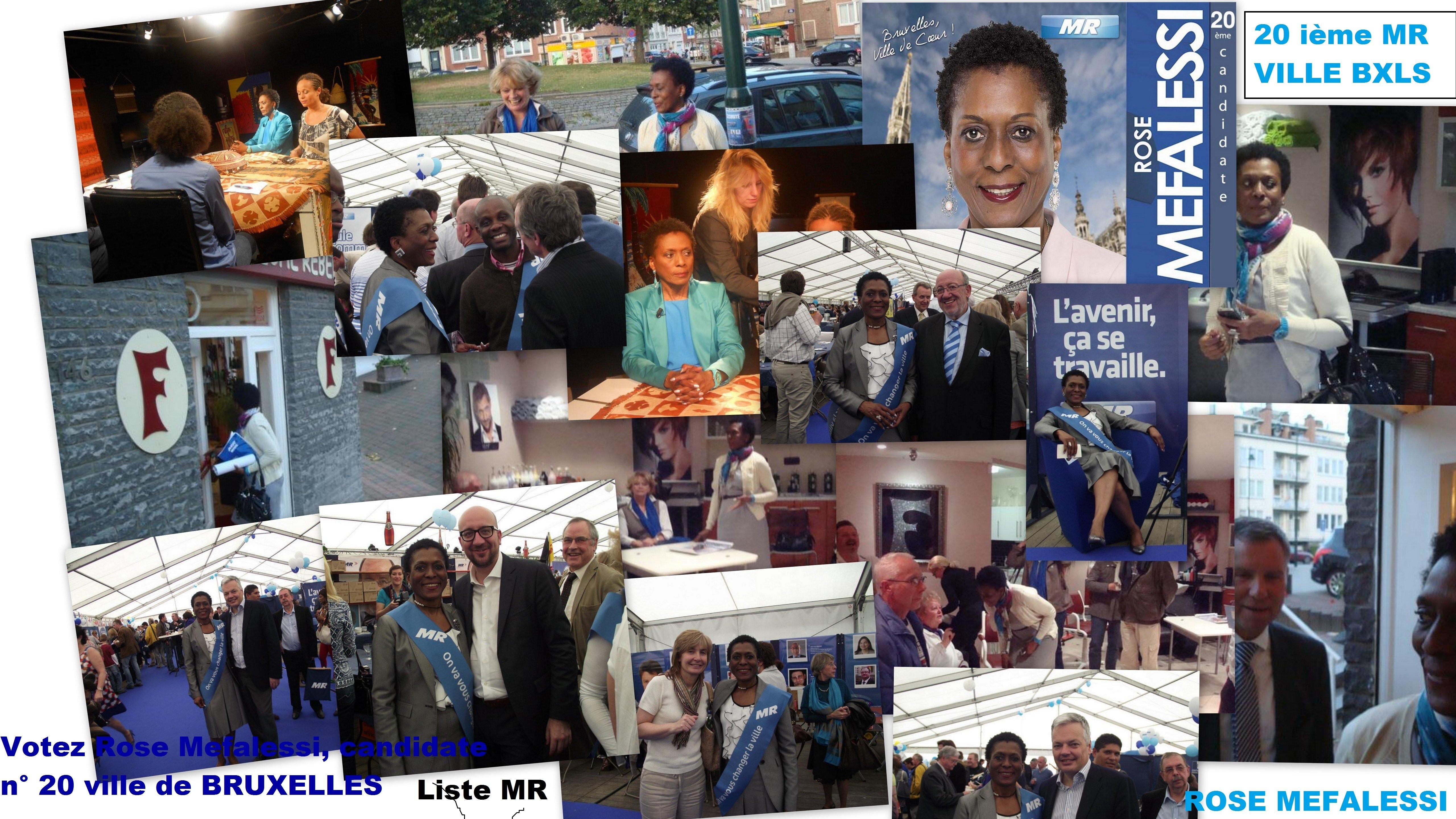 Pour que les choses changent dans Bruxelles Ville, votez MR. Votez la 20e candidate!! MR-3