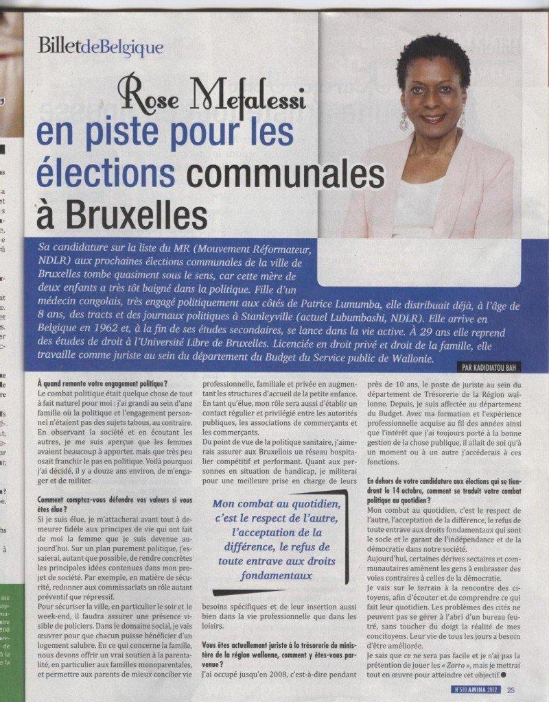 En page 25 du magazine AMINA du mois d'octobre 2012, découvrez la candidate n°20 sur la liste MR à la Ville de Bruxelles article-de-tantine-rose1-800x1024